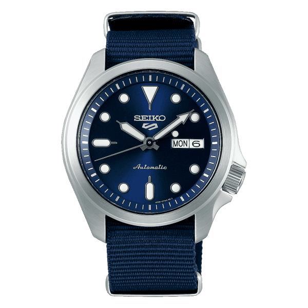 Seiko SRPE63K1 csbedford Automatic Blue Day Date Watch