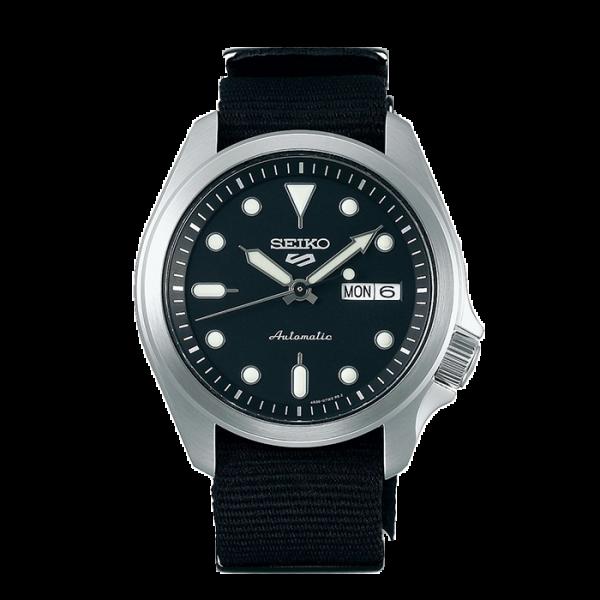 seiko SRPE67K1 csbedford 5 Sports Automatic Black Men's Watch