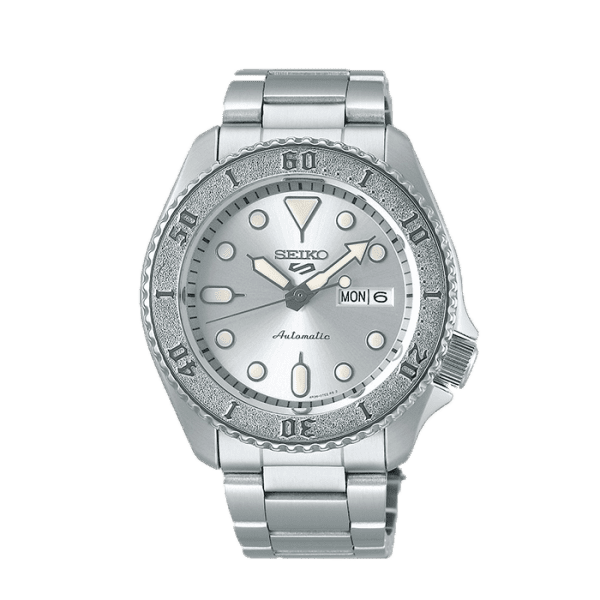 seiko srpe71k1 csbedford 5 Automatic Silver Bracelet Day Date Watch