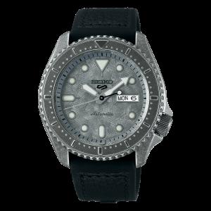 seiko SRPE79K1 csbedford 5 Sports Silver Dial Strap Men's Watch