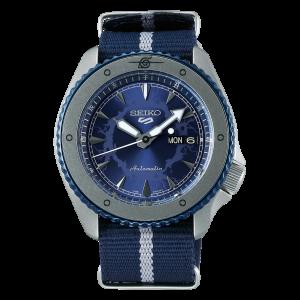5 Sports Sasuke Uchiha Automatic Blue Watch SRPF69K1 csbedford