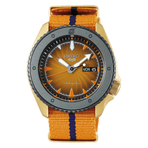 Seiko Watch SRPF70K1 Csbedford Naruto Uzumaki