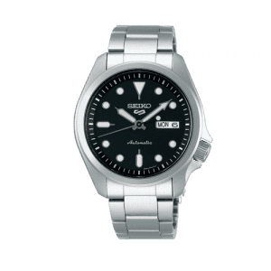 5 Automatic Black Dial Day Date Bracelet Watch SRPE55K1 CSBEDFORD