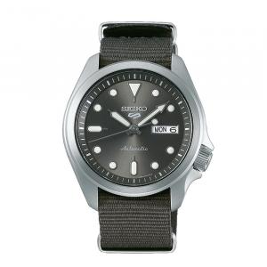 seiko SRPE61K1 csbedford 5 Sports Automatic Grey Day Date Watch