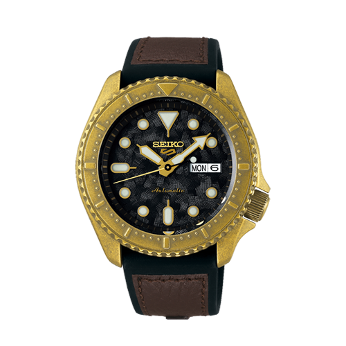 Seiko 5 Sports Vintage Automatic Men's Watch SRPE80K1 Csbedford