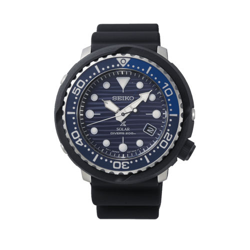 'Save the Ocean' Solar Divers 200M Mens Watch SNE518P1 Csbedford
