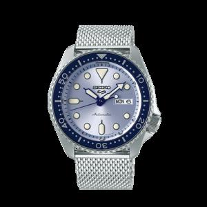 Seiko 5 Sports Automatic Blue Dial Bracelet Watch SRPE77K1 Csbedford